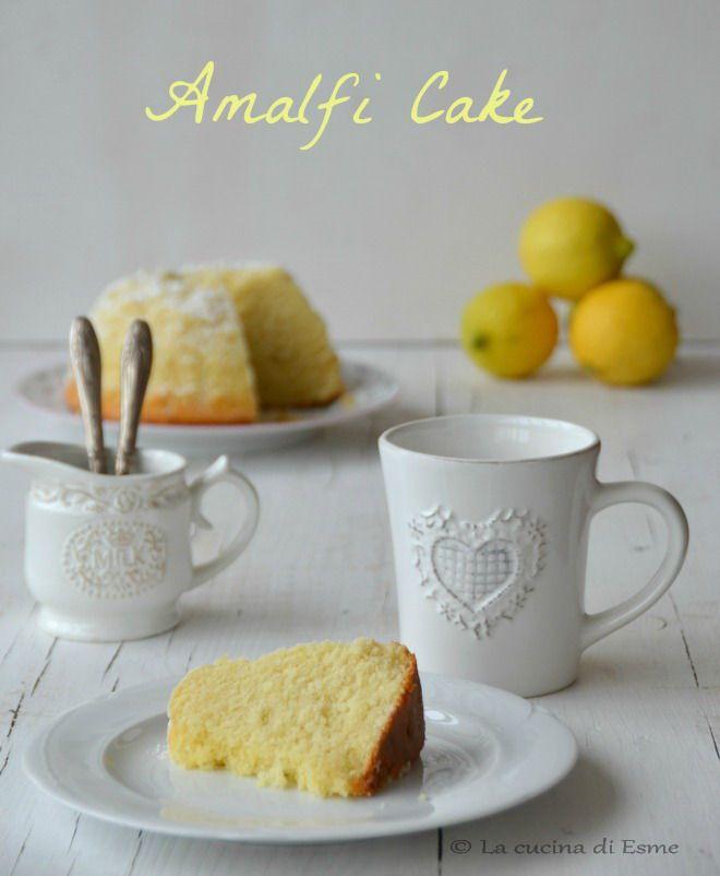 il dolce di Amalfi di Sal De Riso - Amalfi cake - lemon cake