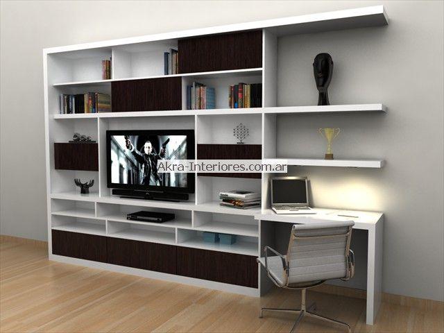 17 mejores ideas sobre muebles para tv minimalistas en - Muebles para libros modernos ...