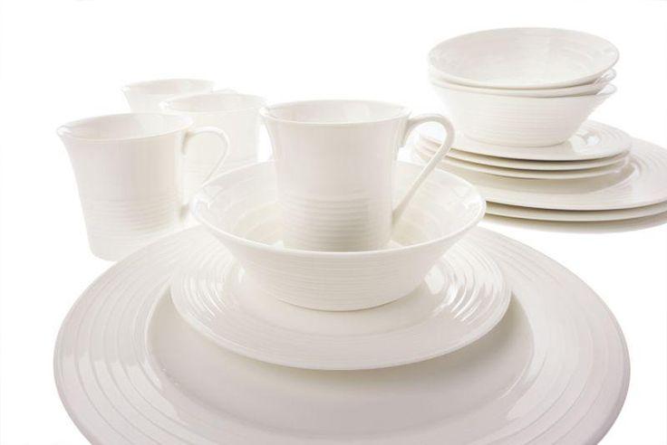 MW - Jedálenská porcelánová súprava CIRQUE - 16-dielna