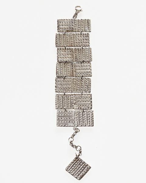 silver bracelet inspired by greek antiquity