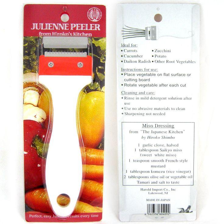 Amazon.com: Kinpira Julienne Peeler Stainless Steel Vegetable Fruit Potato Cutter Slicer New: Kitchen & Dining