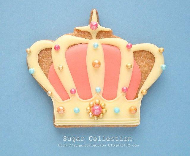 Princess Crown sugar cookie