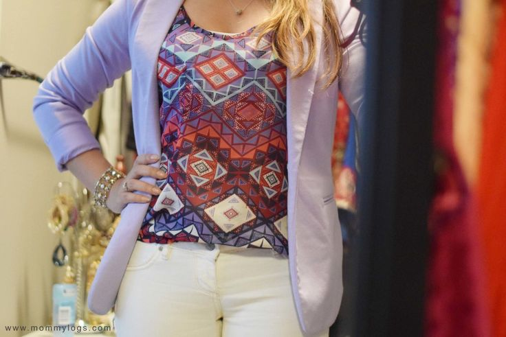 Mommy Logs | The Purple Blazer – Style Post