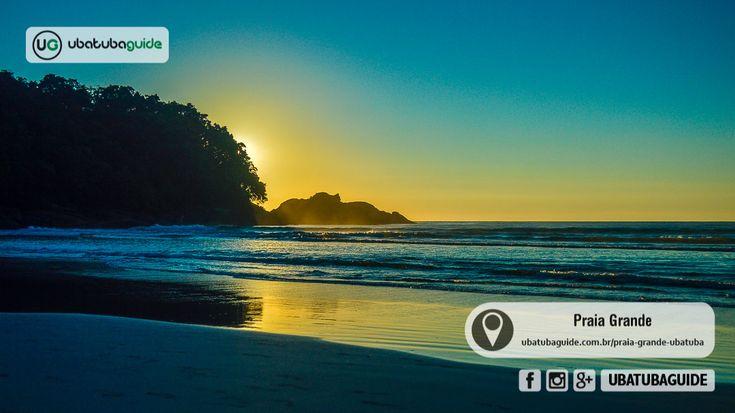 A Praia Grande, em Ubatuba, é a mais badalada da cidade e fica próxima ao centro. Você encontra quiosques, lojas, restaurantes, pousadas e casas para locação. A Praia Grande é boa para todos os públicos. Venha conhecer, ver o mapa, como ir, boas fotos e opções do que fazer na Praia Grande de Ubatuba.