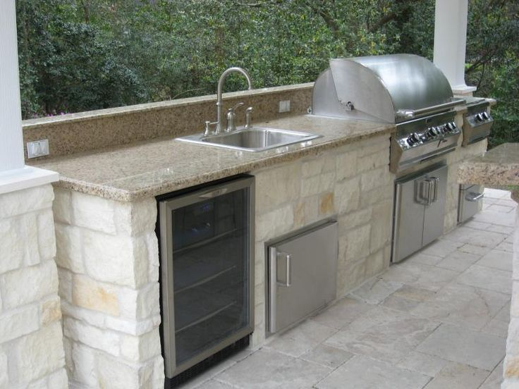 13 best images about outdoor kitchen on pinterest villas for Block outdoor kitchen