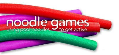 PE Games using pool noodles