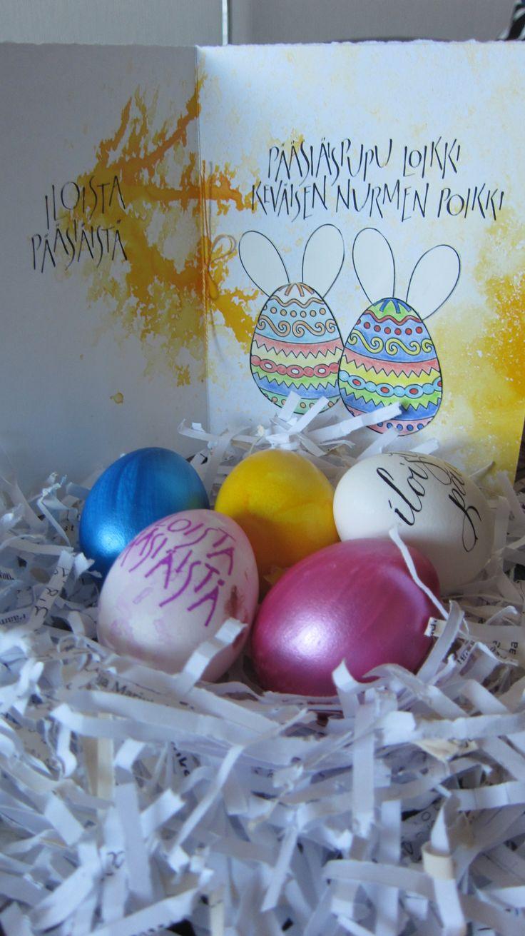 Pääsiäiskortti / Easter card