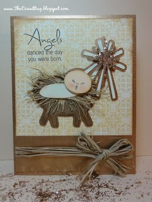 My Craft Spot: DT post by GiGI - Angels danced the day you were born