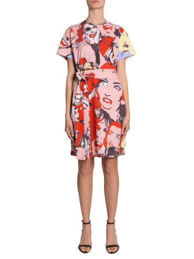 MARC JACOBS Abito Con Stampa. #marcjacobs #cloth #dresses