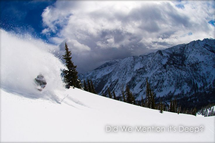 Deep Pow heli skiing in the Kootenays, BC, Canada - http://www.snowwater.com/