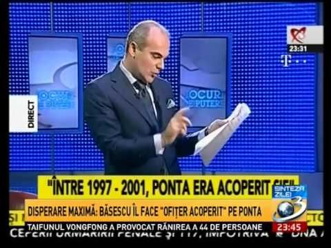 Basescu - Prima dezvaluire,V.Ponta, ofiter acoperit SIE_HQuality video
