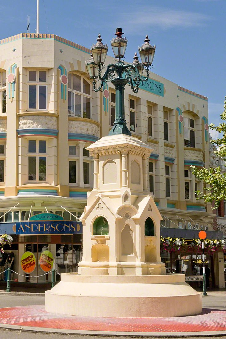 Things To Do In Whanganui, New Zealand. The historic  Watt Fountain, 1881. Read more: www.visitwhanganui.nz/things-to-do-in-whanganui. via @visitwhanganui