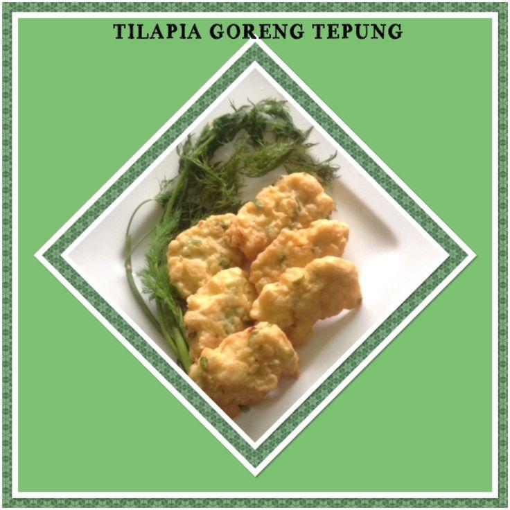 TILAPIA GORENG TERIGU