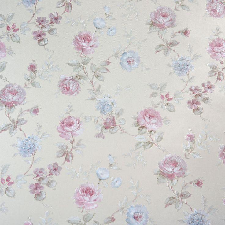 Halley Çiçek Vinyl Duvar Kağıdı 34011 - Koçtaş