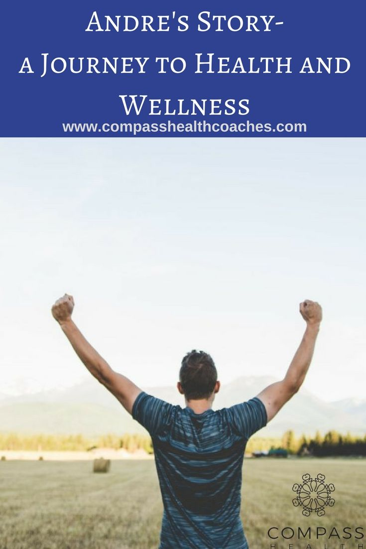 A man's journey to health and wellness.