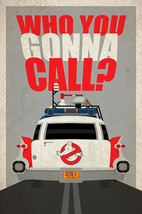 Cool Art: 'Who You Gonna Call?' by Places & Films