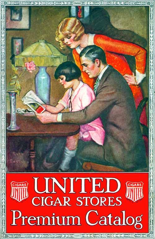 United Cigar Stores, 1929, Ruth Eastman