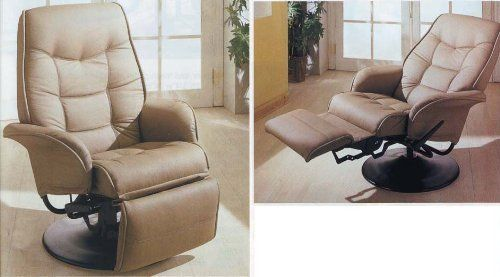 Chairs - Berri Swivel Recliner with Flared Arms