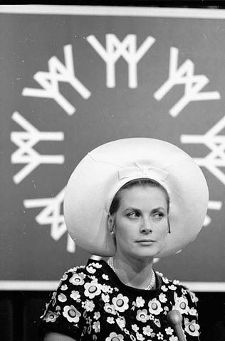 Grace Kelly exhibit Montreal -  Photo of her at EXPO 67 Montreal