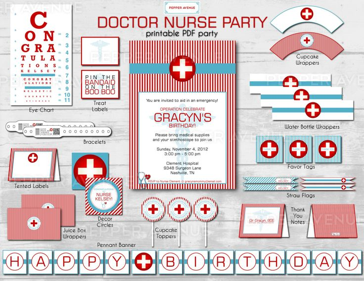 The 25 best Nurse party ideas on Pinterest Medical party