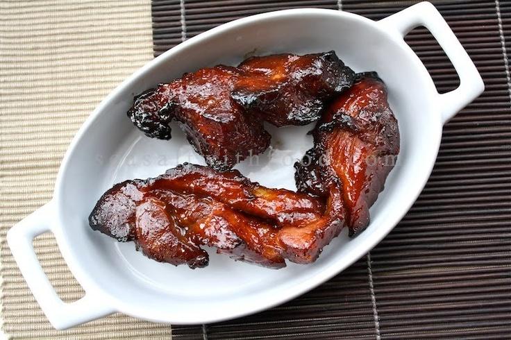 Chinese Barbecued Pork - Char Siu   Foodie - Pork   Pinterest