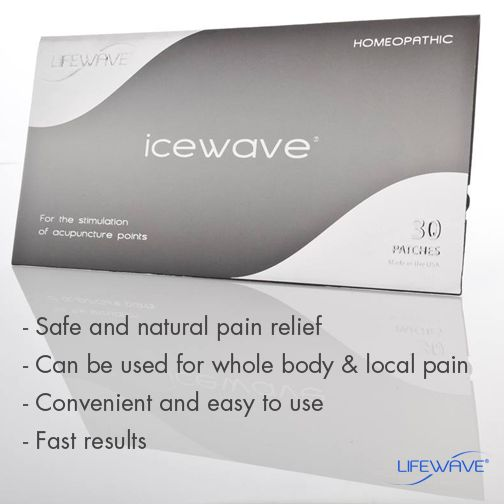 #IceWave offers you safe and natural pain relief with fast results. It can be used for whole body pain relief or local pain, like headaches or lower back pain. It's convenient and easy to use! #PoweredbyLifeWave