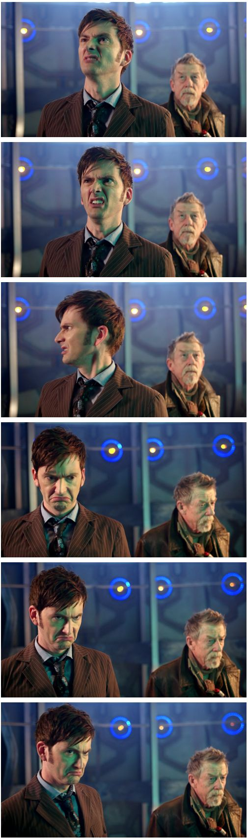 """Sir, your face...David Tennant, the only man who can make a million facial expressions in 10 seconds"""