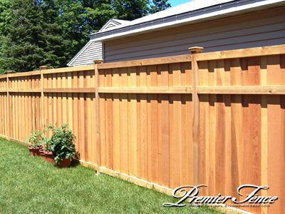 17 Best Good Neighbor Style Wood Fence Images On Pinterest