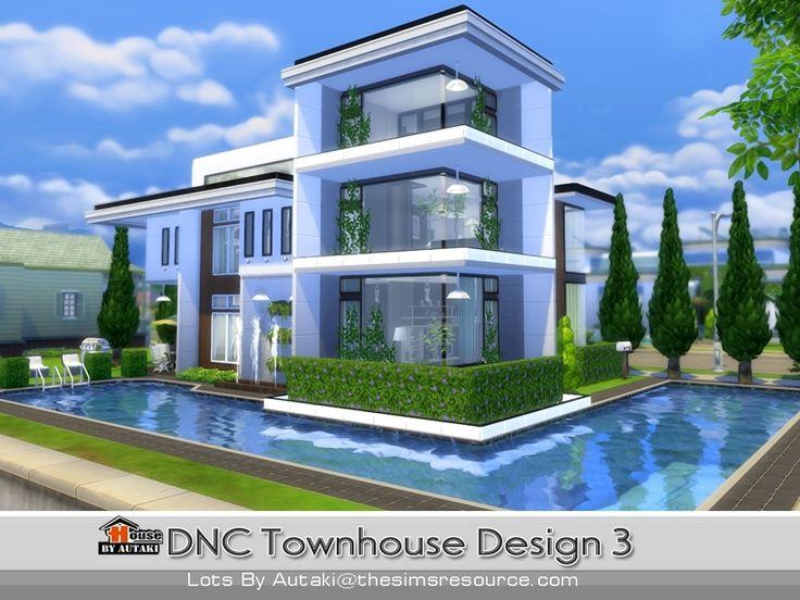 autaki's DNC Townhouse Design 3