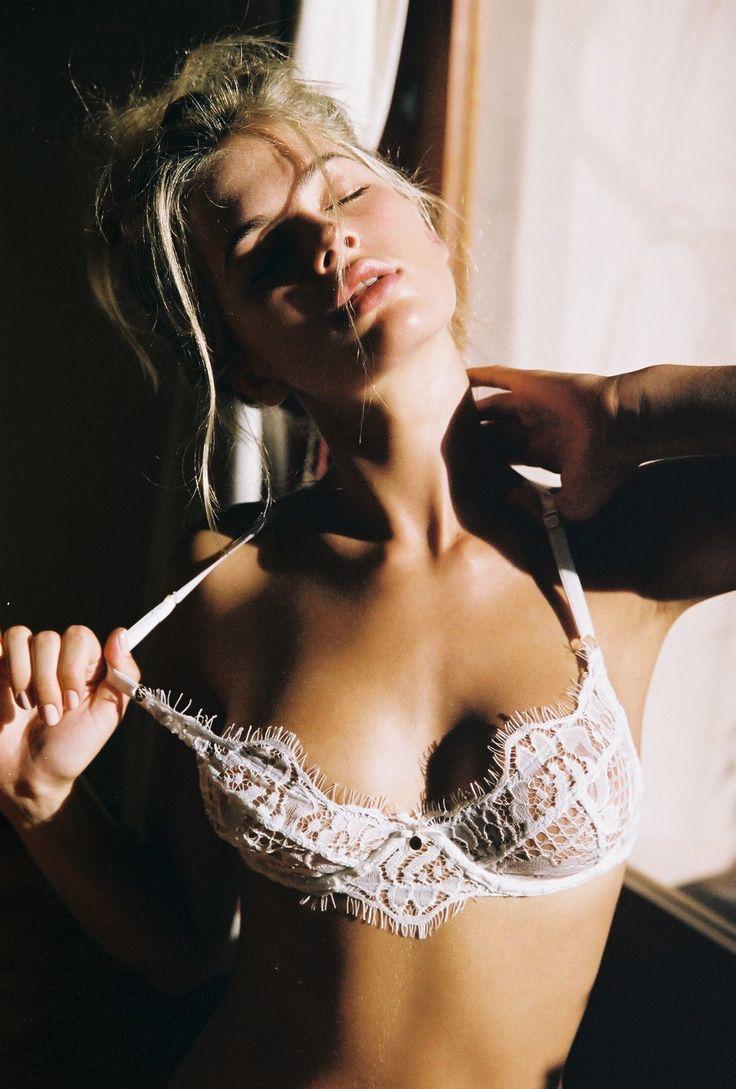 FOR THE WEDDING NIGHT || Gooseberry Intimates white lace bridal lingerie || NOVELA BRIDE...where the modern romantics play & plan the most stylish weddings... www.novelabride.com #jointheclique @novelabride