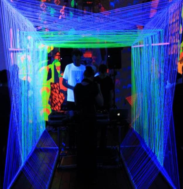 Harp String DJ Booth Is Its Own Playable Instrument [Video] - PSFK