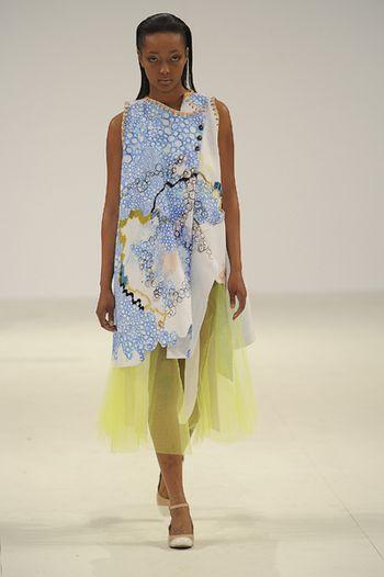 Graduate Fashion Week Lauren Smith from Edinburgh college of Art) via stylebubble.co.uk