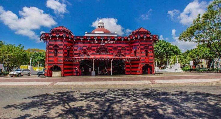 Parque de Bombas de Ponce. Arquitectura gótica victoriana en Puerto Rico