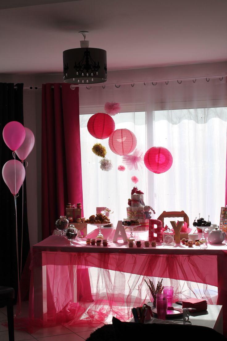 Une baby shower très girly imaginé par Mon plus bel évènement