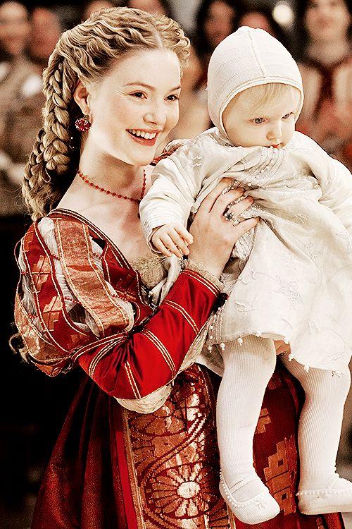 Queen Katharine and Princess Agatha
