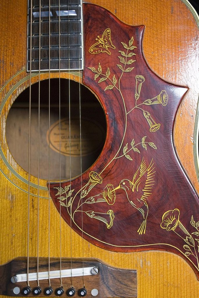 1960's gibson hummingbird--would love to own one of these someday.  One of the first really nice guitars I ever played.