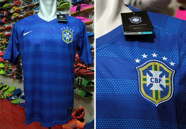 Jersey Brazil Away World Cup 2014 Rp 110.000   BB : 33241842 (A.n Ade Futsal & Soccer)  Call: 085658790893 WhatsApp : 082178006207