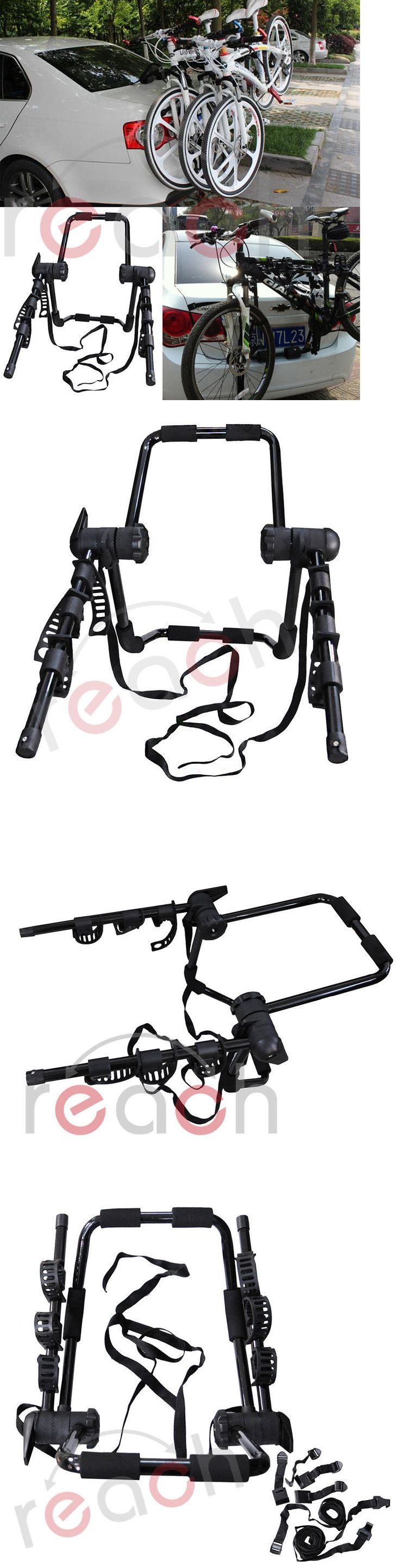 Car and Truck Racks 177849: New 3-Bike Trunk-Mount Hatchback Suv Or Car Sport Bicycle Carrier -> BUY IT NOW ONLY: $39.45 on eBay!