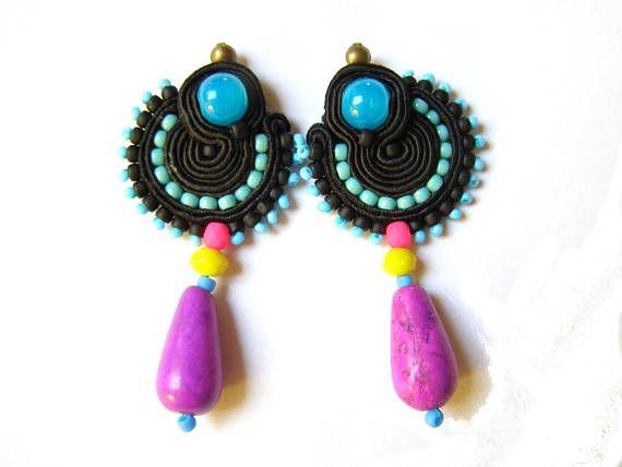 Soutache Earrings  Harlow