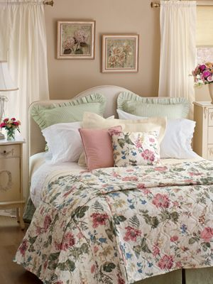 Cottage Gardens Country Curtains And Beautiful Bedrooms On Pinterest