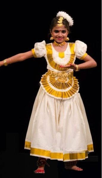 1771b0feba62 Mohiniattam Kerala Traditional dance dress costumes children girls costume