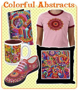 Цветные абстрактные Плюсы Искусство Thaneeya Макардл