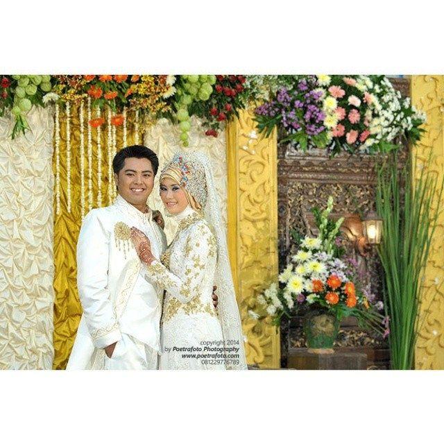 Foto Wedding Dg Dekorasi Pernikahan Outdoor Di Yogyakarta: #Foto Wedding Dika+Ayu #Wedding Muslim At #Yogyakarta