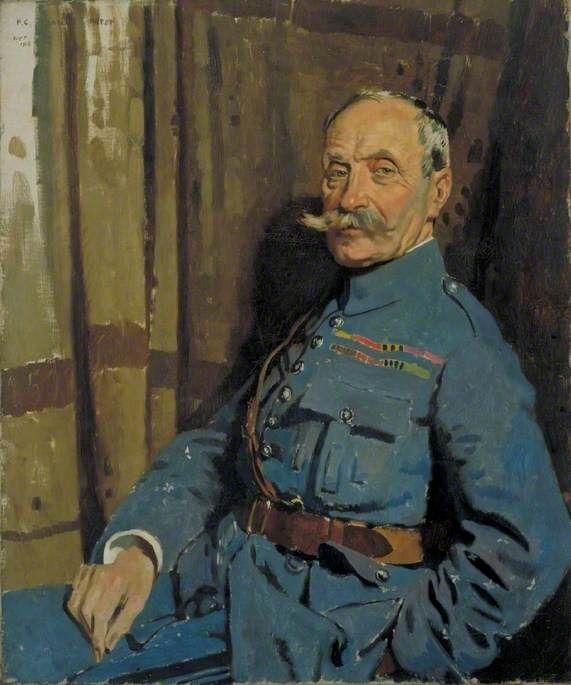 Marshal Ferdinand Foch (1851–1929), OM  - William Orpen