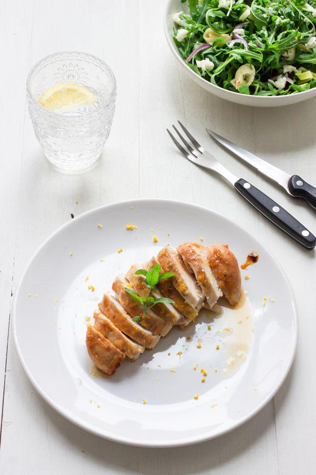 Pollo marinado con miel y limón... Chicken marinated with honey and lemon ......... #lacocinadeaisha #cookingthechef #henriquesapessoa #gastronomia #recetas #pollo