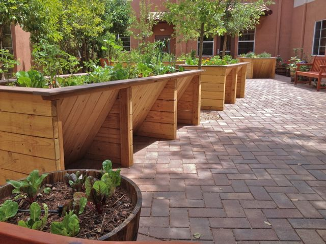 Sedona Winds Accessible Garden Wheelchair Accessible Gardens by Gardens for Humanity -- Universal Design Style