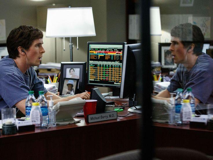 Christian Bale es Michael Burry en La gran apuesta
