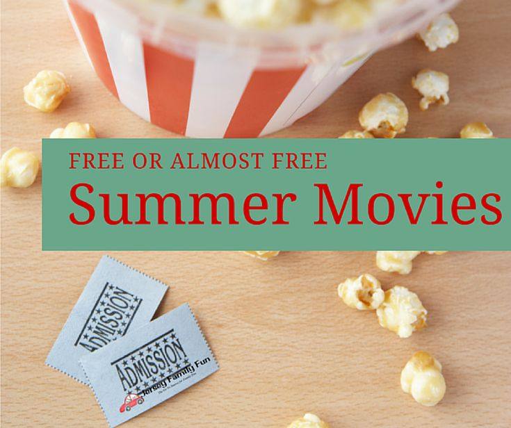 Jersey Family Fun's schedule of New Jersey free movies & $1 movies for families listed by county as well as our series on free movies for kids in New Jersey.