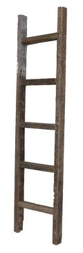 Harriet Reclaimed Wooden Ladder, 5' rustic-ladders-and-step-stools