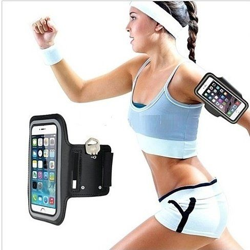 Run free with this convenient fitness armband and keyholder! Compatible with most smartphones, it features a comfy design made of neoprene and holds your phone and keys for safe-keeping while you exercise.